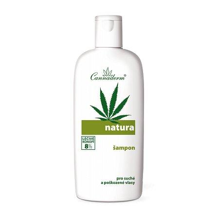 Cannaderm Natura šampon na suché pošk. vlasy 200ml
