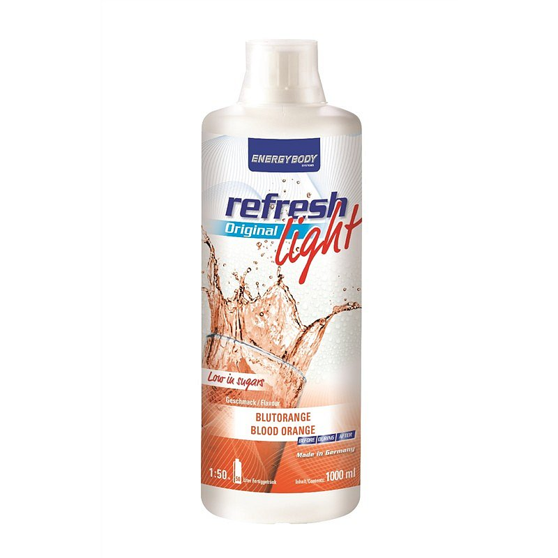 EnergyBody Refresh Light Original červený pomeranč 1L