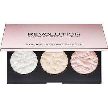 Makeup Revolution Strobe Lighting paleta rozjasňovačů  11,5 g