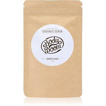 BodyBoom Sweet Coco kávový tělový peeling 100 g