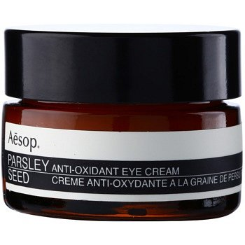 Aēsop Skin Parsley Seed antioxidační oční krém  10 ml