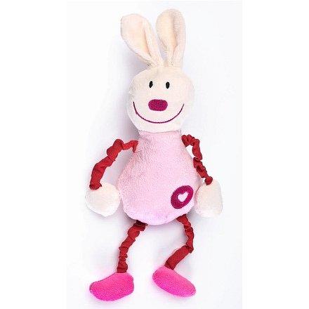 Edukační plyšová hračka Sensillo králíček s pískátkem