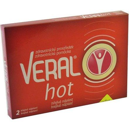 Veral Hot hřejivá náplast 2ks