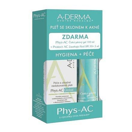 A-DERMA Phys-AC Global KIT (v.2018) 3ks