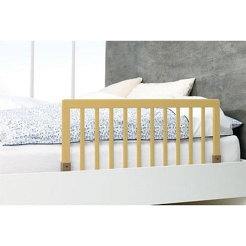 BABYDAN Zábrana k posteli dřevěná přírodní 45x90 cm