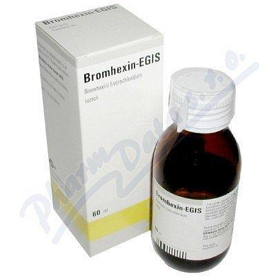 Bromhexin - Egis roztok 1 x 60 ml/ 120 mg