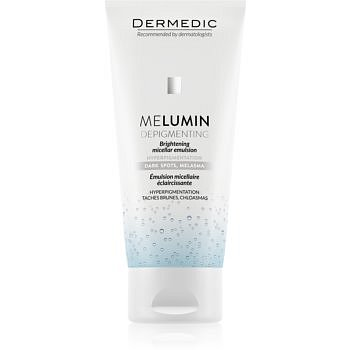 Dermedic Melumin  čisticí micelární emulze pro pleť s hyperpigmentací  200 ml
