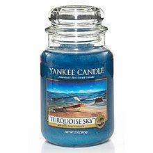 Yankee Candle Turquoise Sky Candle ( tyrkysové nebe ) - Vonná svíčka 411.0 g