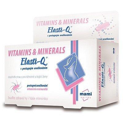 Elasti-Q Vitamins & Minerals s postupným uvolňováním tbl.90