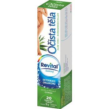 Revital Očista těla tablety šumivé  20 Ale Vera base