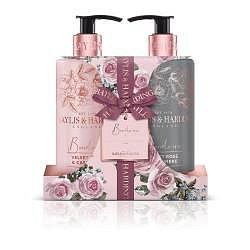 Baylis & Harding Sametová růže a kašmír tekuté mýdlo + mléko na ruce