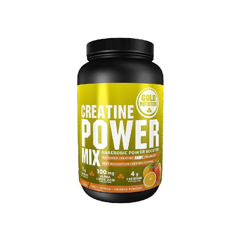 GoldNutrition Creatine Power Mix pomeranč/mango 1000g