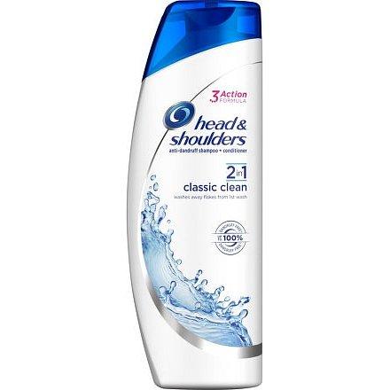 Head & Shoulders šampón 2v1 Classic Clean 360ml