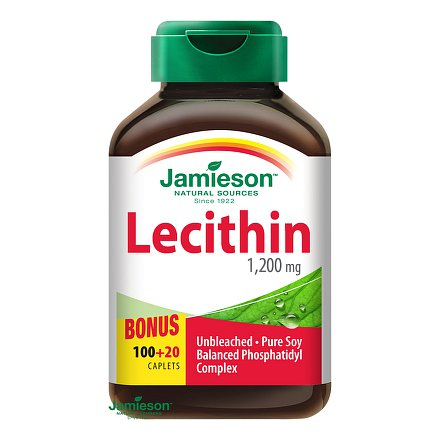 Lecitin 1200 mg 120 kps.