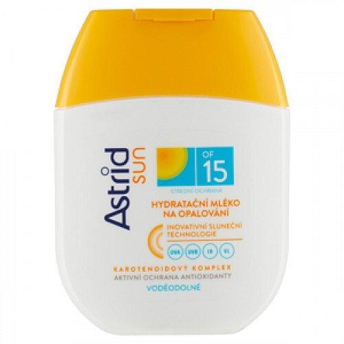 Astrid Hydratační mléko na opalování OF 15  80 ml