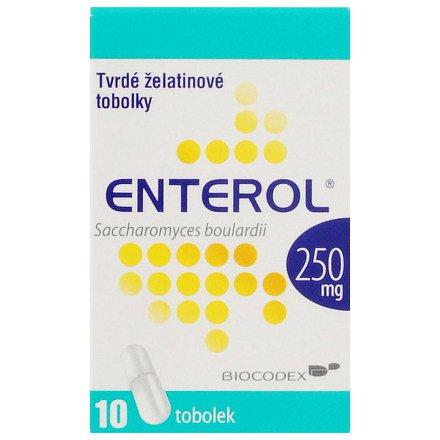 Enterol perorální orální tobolky tvrdá 10 x 250 mg