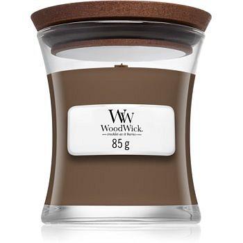 Woodwick Amber & Incense vonná svíčka 85 g s dřevěným knotem