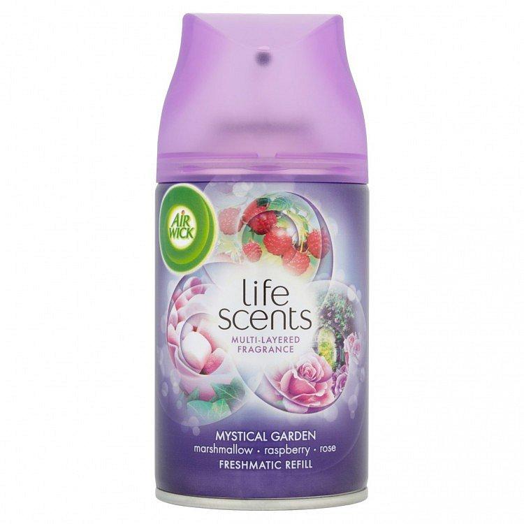 Air Wick Rare Scents Freshmatic Max náhradní náplň do osvěžovače tajemná zahrada 250 ml