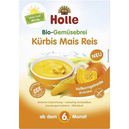 Holle bio Zeleninová kaše dýně, kukuřice, rýže
