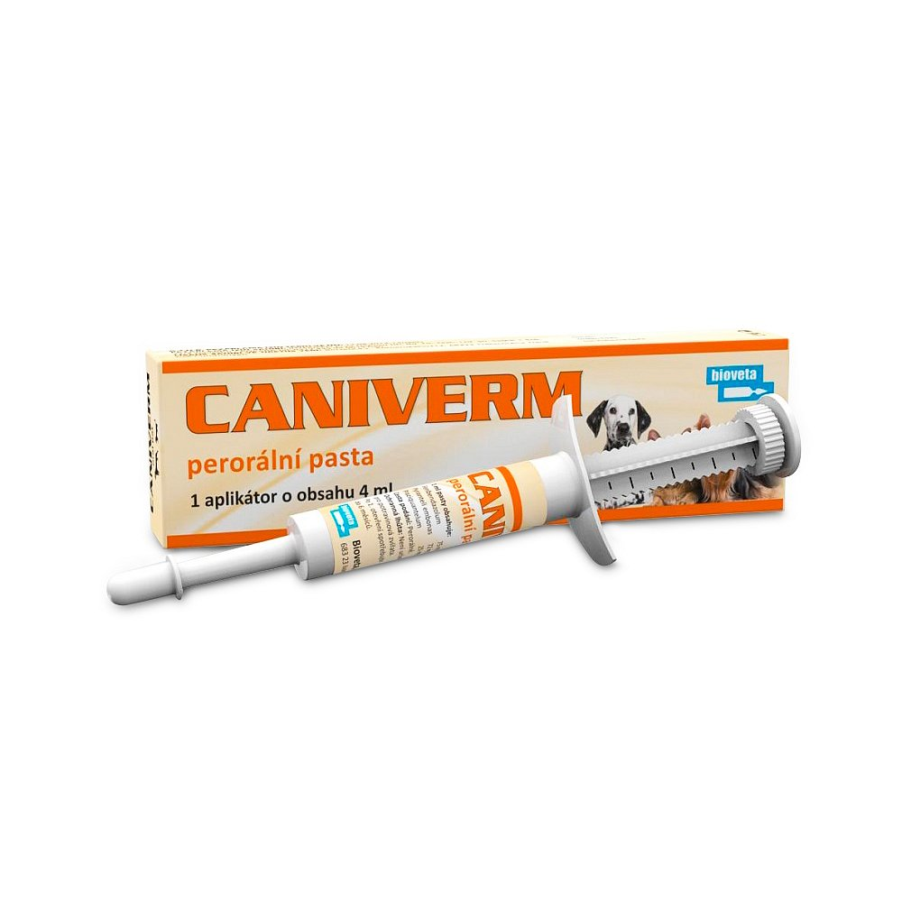 BIOVETA Caniverm  pasta proti parazitům 10ml