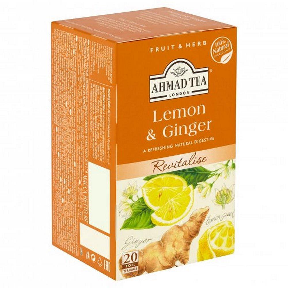 AHMAD TEA Citron & Zázvor 20 sáčků