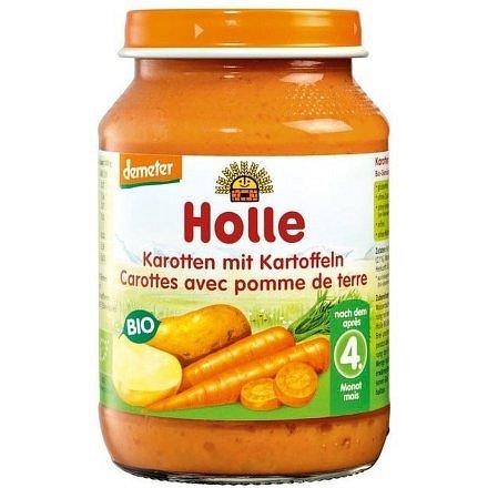 Holle bio dětská přesnídávka Mrkev a brambor