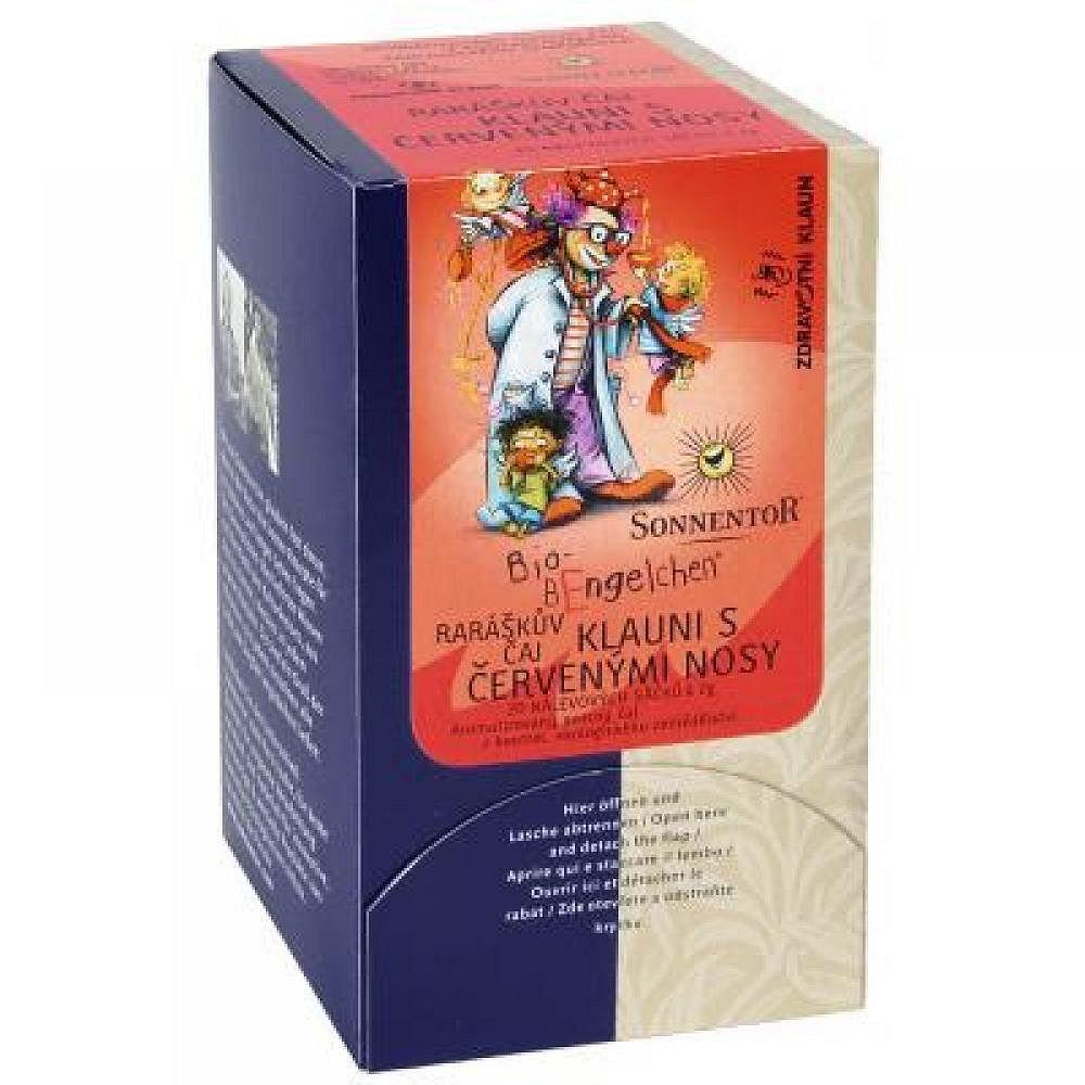 Raráškův čaj - Klauni s červenými nosy bio - porc. dárkový 40g (20sáčk