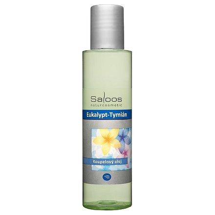 Saloos Koupelový olej Eukalypt - Tymián 125ml