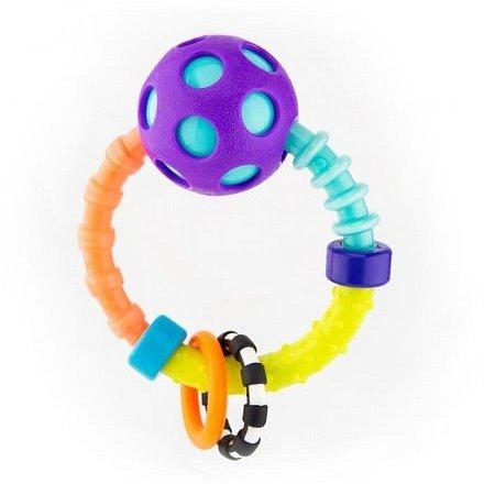 Chrastítko s míčkem a kroužky