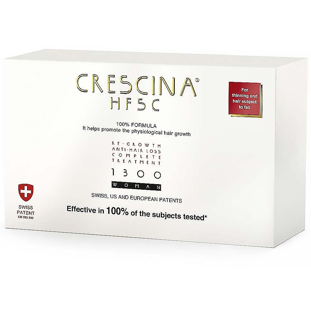 CRESCINA na podporu růstu vlasů a proti vypadávání vlasů (stupeň 1300) - ženy
