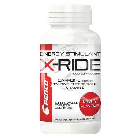 PENCO Energy stimulant X-RIDE 50tbl Cherry
