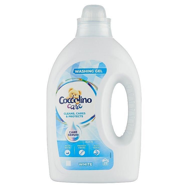 Coccolino Care prací gel na bílé prádlo, 28 praní 1,12 l