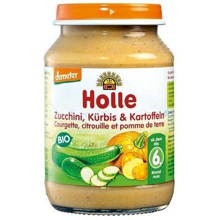 Holle Bio Cuketa a dýně s bramborem 190g