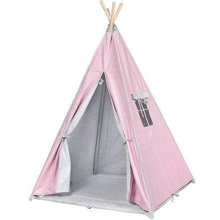 Dětský luxusní stan Teepee PlayTo růžový