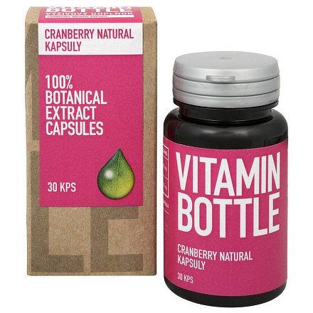 Vitamin-Bottle Cranberry Natural 30 kapslí