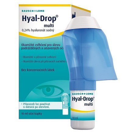Hyal-Drop multi oční kapky 10ml