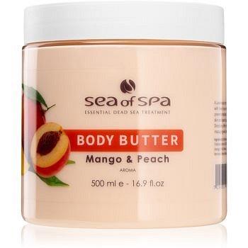 Sea of Spa Dead Sea Treatment tělové máslo s mangem a broskví 500 ml