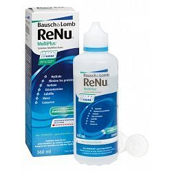 Bausch & Lomb ReNu MultiPlus Multi-Purpose Sol. 360ml