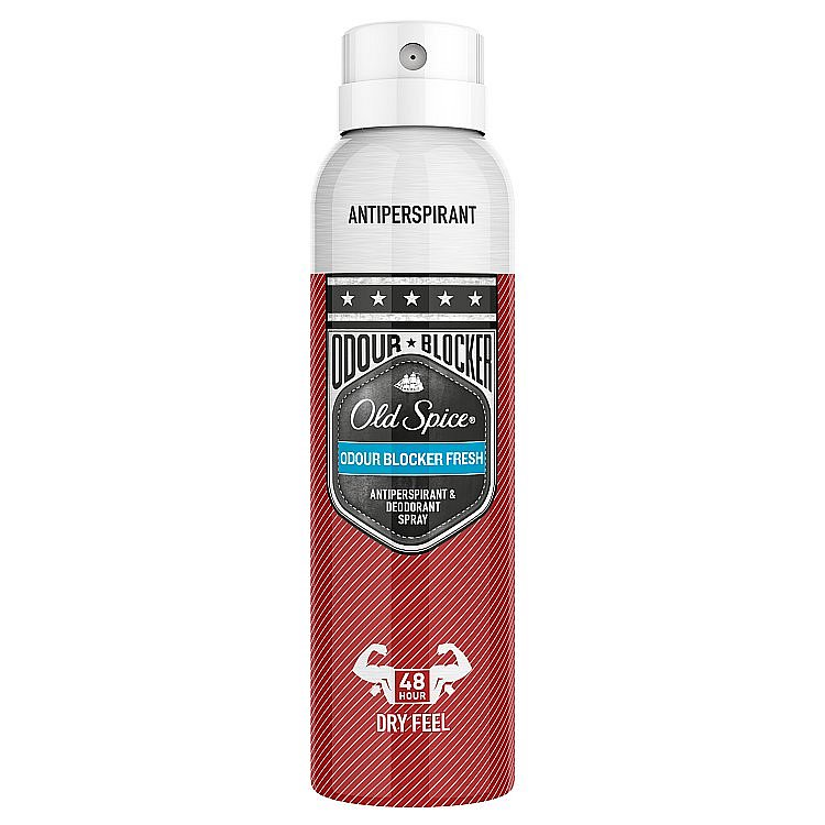 Old Spice Odor blocker deodorant ve spreji  125 ml