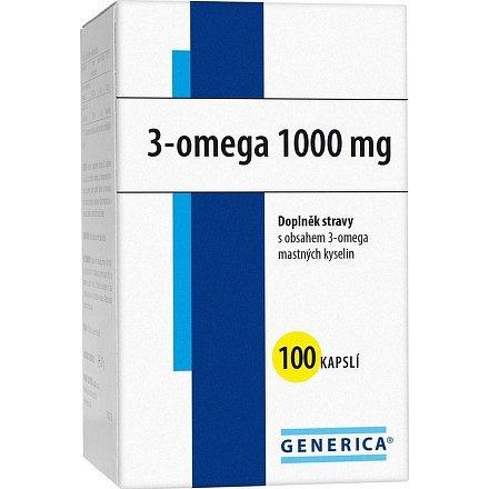 3 -omega 1000 orální tobolky 100 Generica