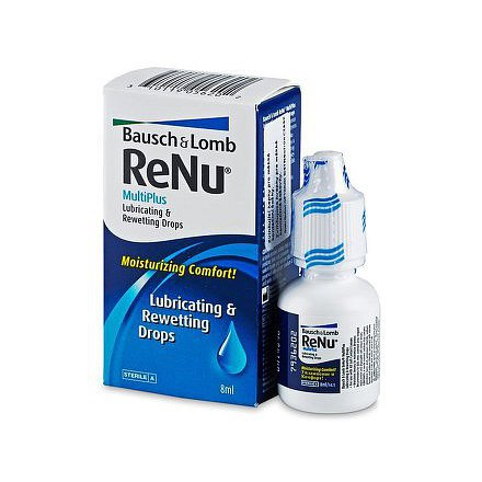 Renu MultiPlus Lubricating&Rewetting drops 8ml