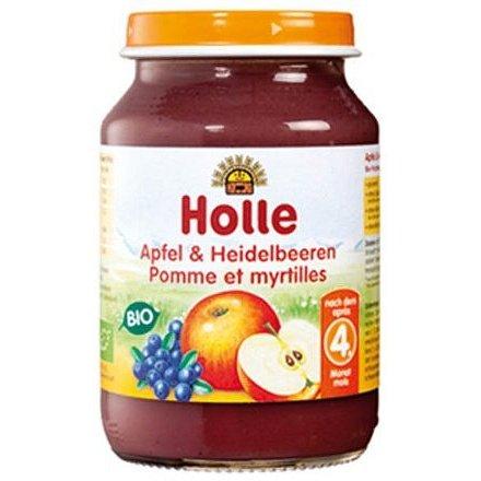 Holle bio dětská přesnídávka Jablko a borůvka