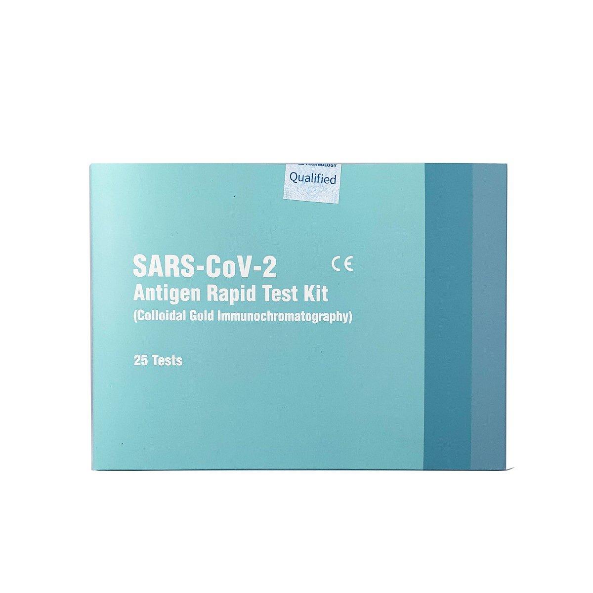 25x Antigenní test na Covid Test Kit