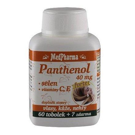 MedPharma Panthenol 40 mg forte tobolky 67