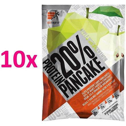 Proteinové palačinky 20 % 10 x 50 g jablko skořice