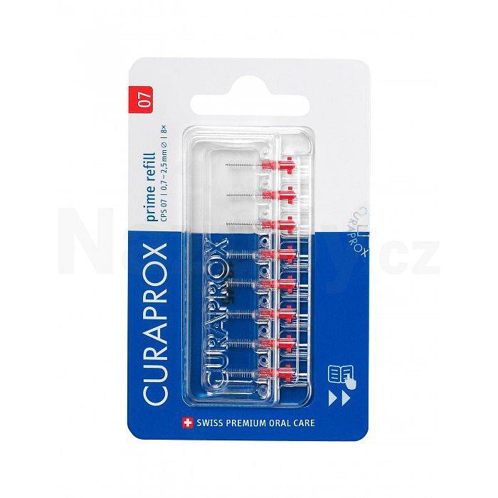 Curaprox CPS 07 prime REFILL mezizubní kartáčky 8 ks