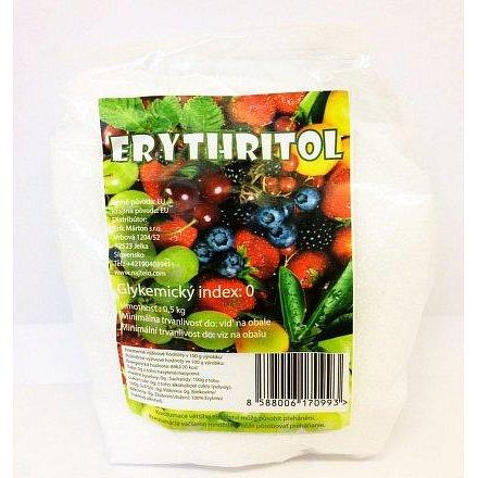 Eryhtritol ovocný cukr 500g