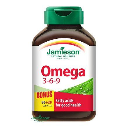 Omega 3-6-9 1200 mg 100 kps.