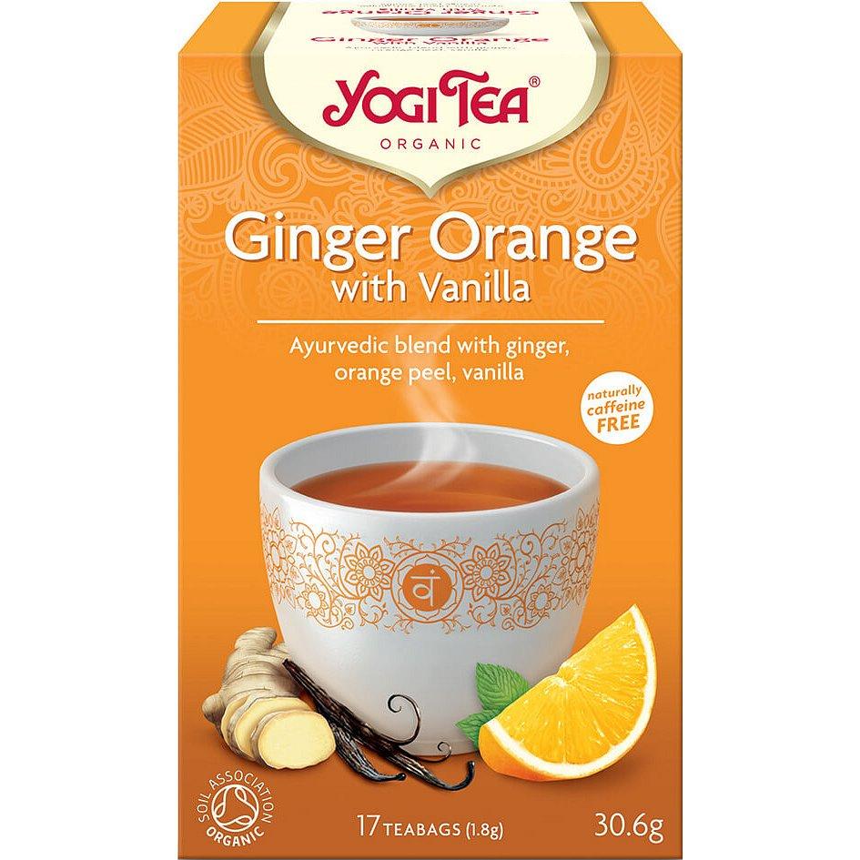 Yogi Tea Bio Zázvor Pomeranč s vanilkou 17x1,8g