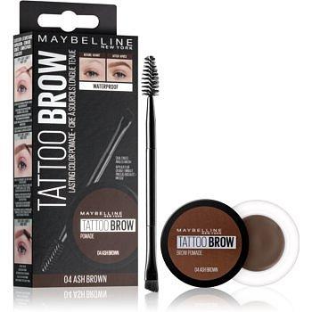 Maybelline Brow tattoo gelová pomáda na obočí odstín 04 Ash Brown